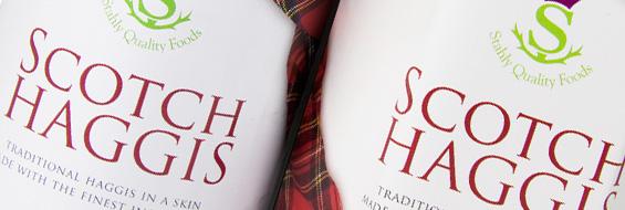 Scotch Haggis in a tin