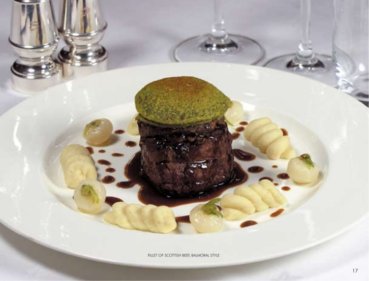 fillet of scottish beef balmoral style
