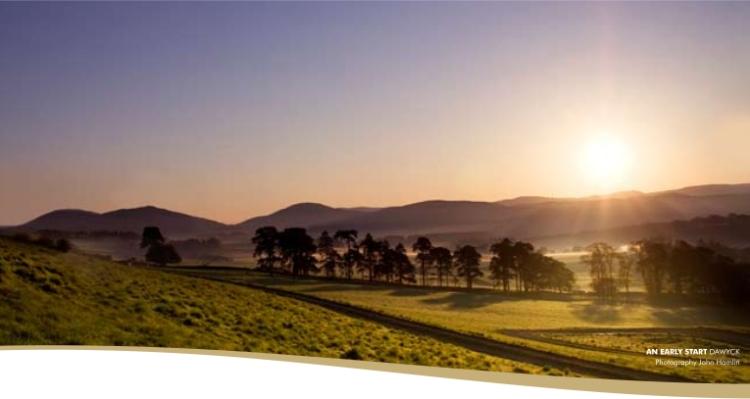 Scottish Borders Sunset
